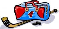Хоккейная форма бывшая в употреблении