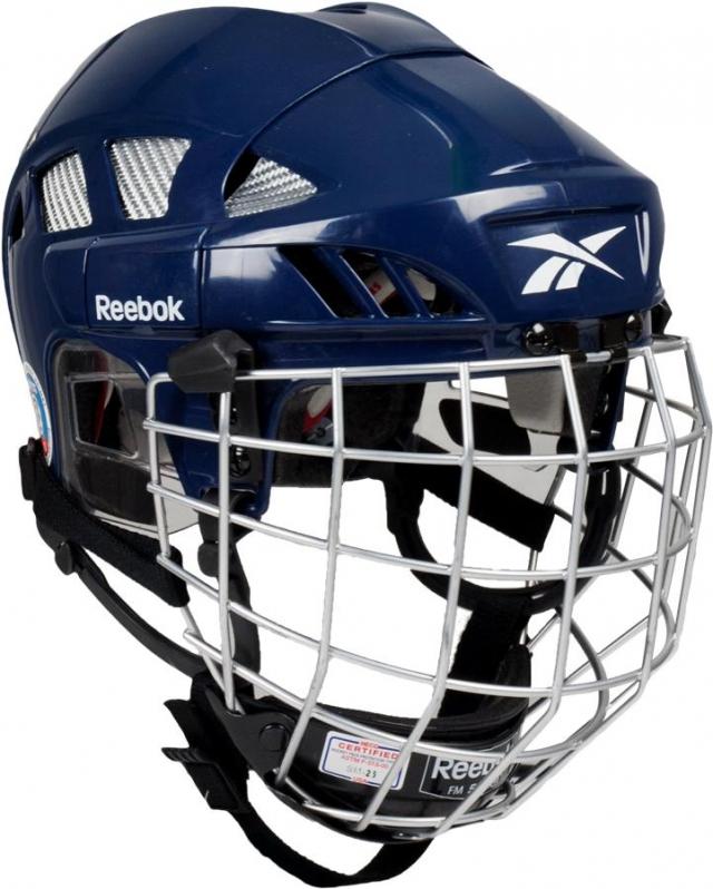Шлем Reebok 8k Combo, с решеткой 11k